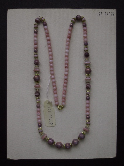 Glass Jewellery. Pink Pearl Beads
